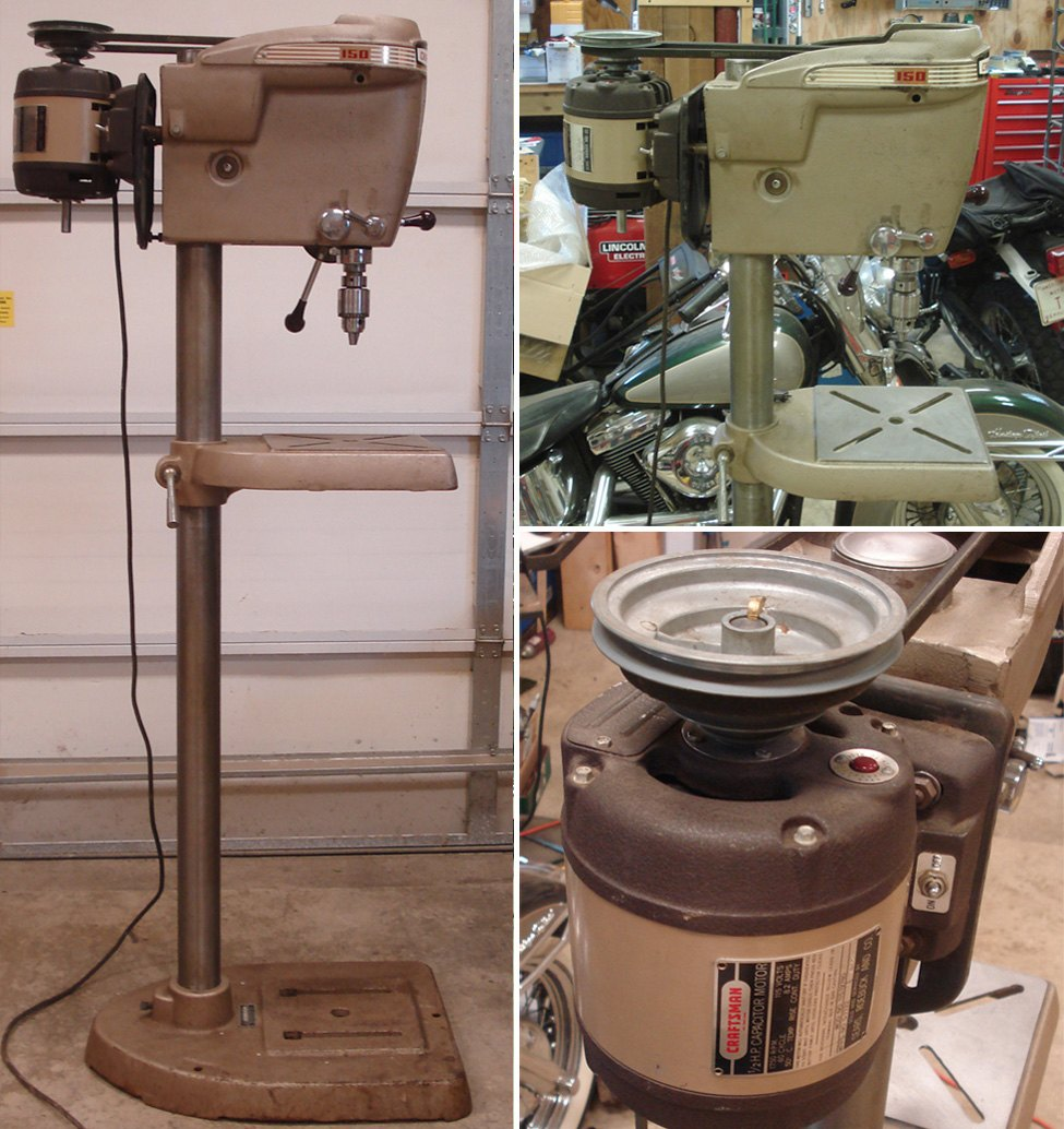 """Show us your cool, """"old"""" drill press [Archive] - The Garage Journal Board"""
